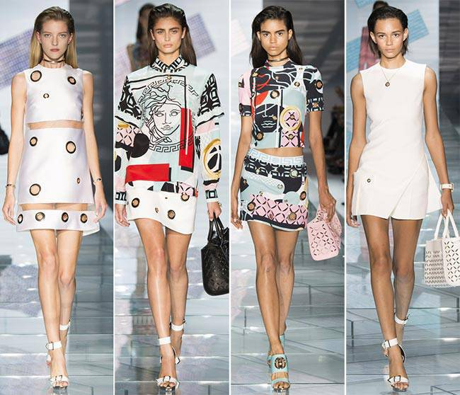 Versace | Spring Summer 2015 Full Fashion Show | Exclusive