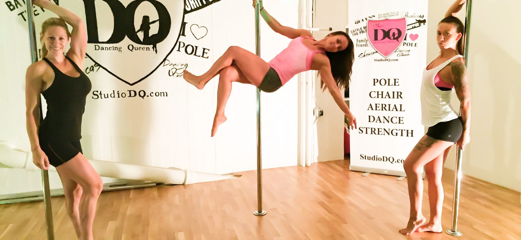 POLEDANCE- BOOST THE SEXY IN YOU