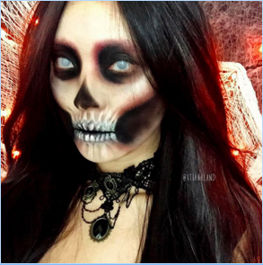 "4,685 gilla-markeringar 2 v xtianalandThis ""Lady from Hell"" tutorial is live on my channel~~ (YouTube.com/suhrealmakeup)!!"