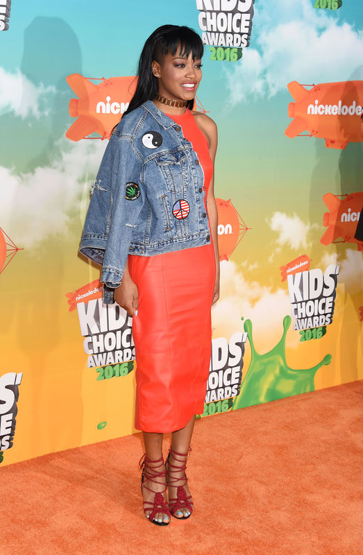 INGLEWOOD, CA - MARCH 12: Actress Keke Palmer attends Nickelodeon