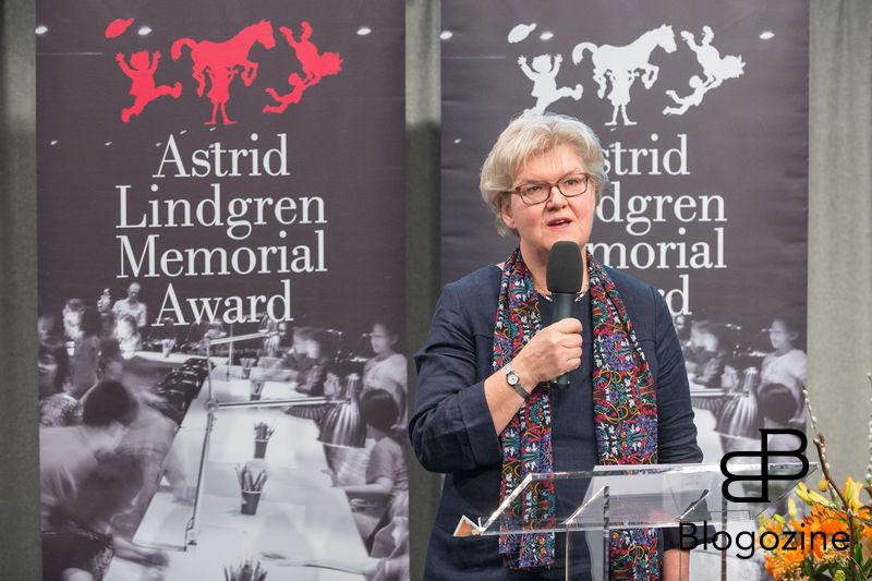 Gunilla Herdenberg. In today was the ALMA Award Astrid Lindgren Memorial Award presented at the Royal Library in Stockholm. This year