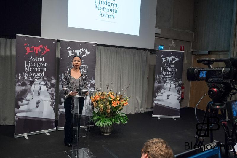 XX. In today was the ALMA Award Astrid Lindgren Memorial Award presented at the Royal Library in Stockholm. This year