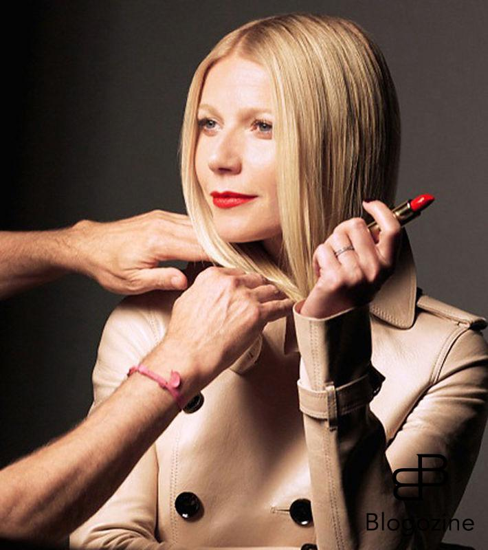 American actress Gwyneth Paltrow stars the new Max Factor Glamour Statement Vision 2013 ad campaign, showing a new look as The Business Woman. STELLA PICTURES