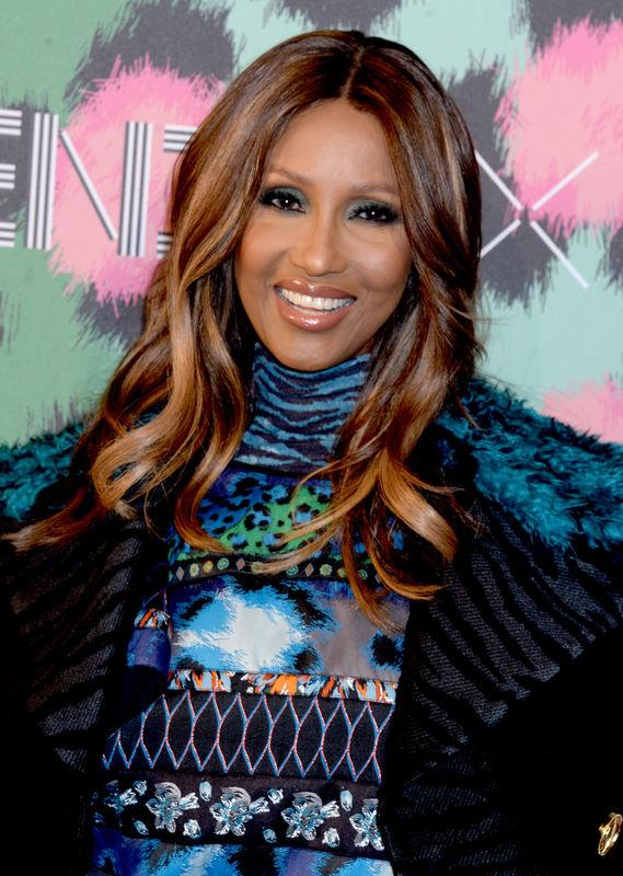Iman attends Kenzo x H&M collection launch at Pier 36 in New York City, NY, USA, on October 19, 2016. Photo by Dennis Van Tine/ABACAPRESS.COM