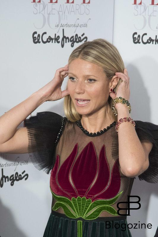 **ALL ROUND PICTURES FROM SOLARPIX.COM** **SOLARPIX RIGHTS - WORLDWIDE SYNDICATION - NO SPAIN** Caption: the 30th Anniversary for Elle Magazine Spain awards in Madrid This pic:American actress Gwyneth Paltrow **UK ONLINE USAGE £25 PER PIC** JOB REF: 19668 DMS/Delores DATE:26.10.16 **MUST CREDIT SOLARPIX.COM AS CONDITION OF PUBLICATION** **CALL US ON: +34 952 811 768**