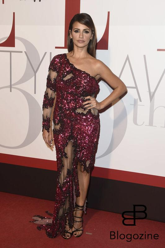 Actress Monica Cruz during the delivery of the Elle Style Awards 2016 on Wednesday 26 October 2016.
