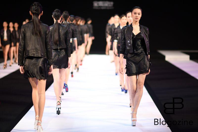 The Spring/summer 2017 fashion show of the designer Wangfei held at the China international fashion week in Beijing,China on 26th October 2016. (Photo by Top Photo) *** Please Use Credit from Credit Field ***