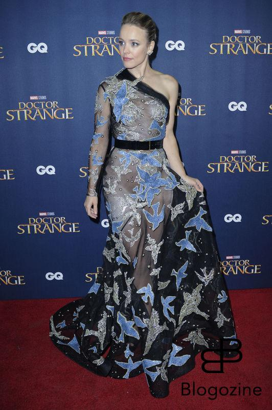"Rachel McAdams attends a launch event for ""Dr.Strange at Westminster Abbey in London. Dr. Strange, Westminster Abbey, London, England, 24/10/16"