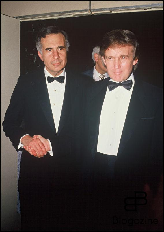 ARCHIVES - DONALD TRUMP ET C KAHN A LA SOIREE STARLIGHT FONDATION A NEW YORK EN 1990
