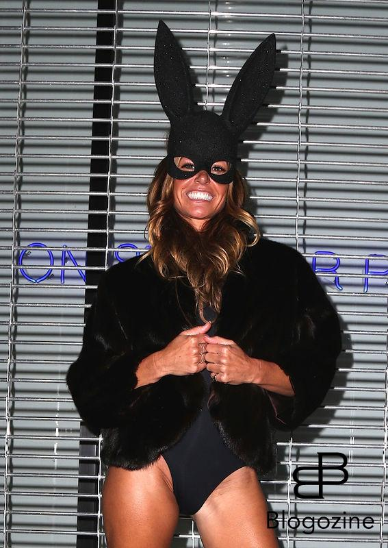 Kelly Bensimon - Les célébrités arrivent à la soirée d'Halloween de Heidi Klum au Vandal club à New York, le 31 octobre 2016 People seen arriving at Heidi Klum