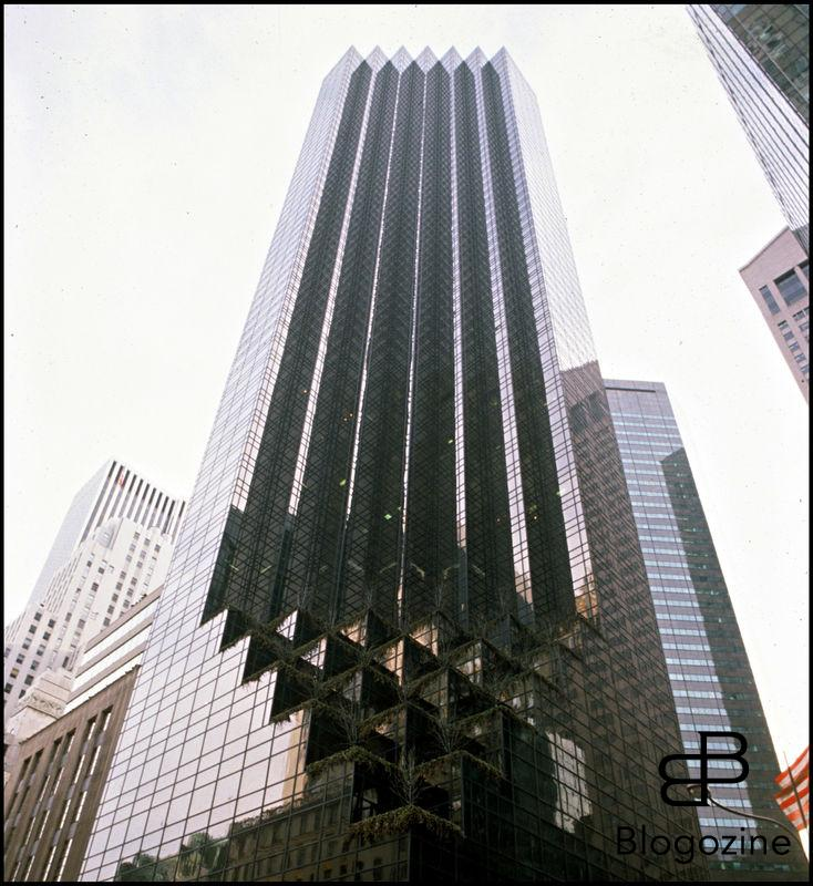 ARCHIVES - TRUMP TOWER - ERIGE PAR LA SOCIETE DE DONALD TRUMP A NEW YORK EN 1990