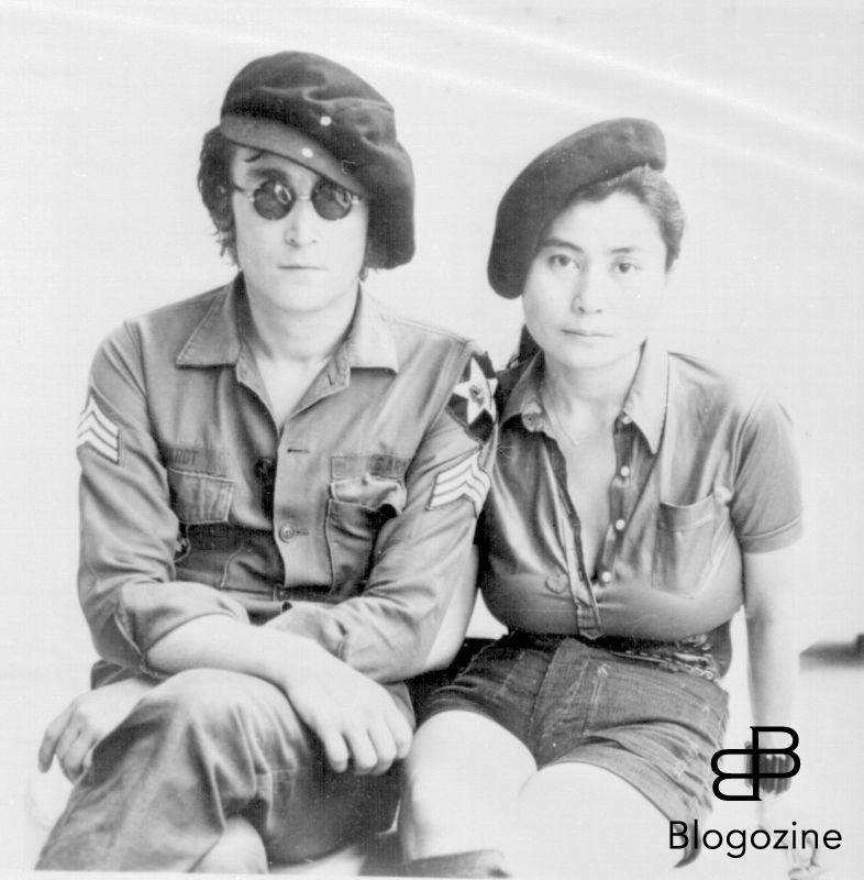 JOHN LENNON British Pop Singer, Songwriter and Musician With his wife YOKO ONO Japanese Artist and Musician COMPULSORY CREDIT: Starstock/Photoshot Photo PCO 235783 01.01.1972 9th November 1966 - John Lennon and Yoko Ono meet for the first time at her exhibition at the Indica Gallery in London. Lennon remembered the date of their meeting as the 9th but many Beatles historians contend that it actually happened on the 7th, the day before the exhibition opened.