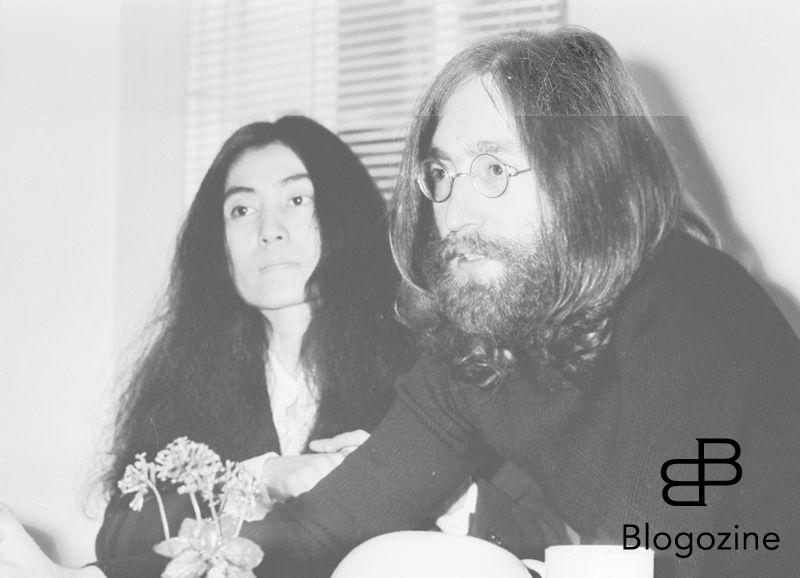 "Beatle John Lennon and his wife Japanese Yoko Ono in an interview with United Press International reveal that they are to stage their second ""bed in for Peace"". At Apple"