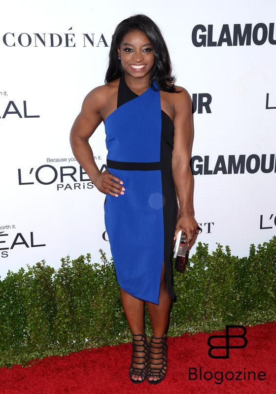 Simone Biles attends Glamour Women Of The Year 2016 at NeueHouse Hollywood on November 14, 2016 in Los Angeles, CA, USA. Photo by Lionel Hahn/ABACAPRESS.COM