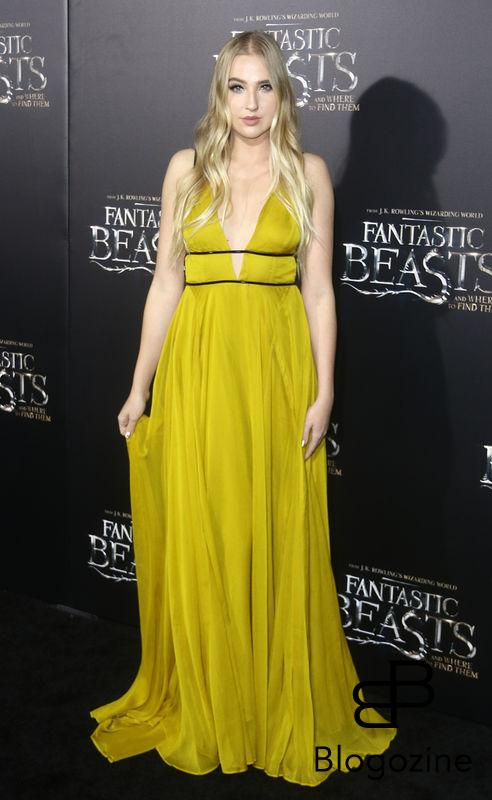 "52228367 Celebrities attend the premiere of ""Fantastic Beasts"
