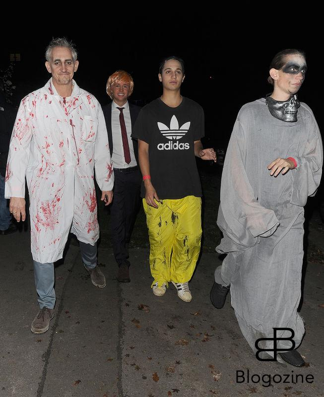 31 October 2016. Celebrities attend the annual Halloween party held at the home of Jonathan Ross. Pictured, Gary Lineker Credit: Will/CK/GoffPhotos.com Ref: KGC-172/305