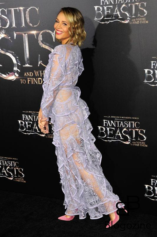 "52228332 Celebrities attend the premiere of ""Fantastic Beasts"