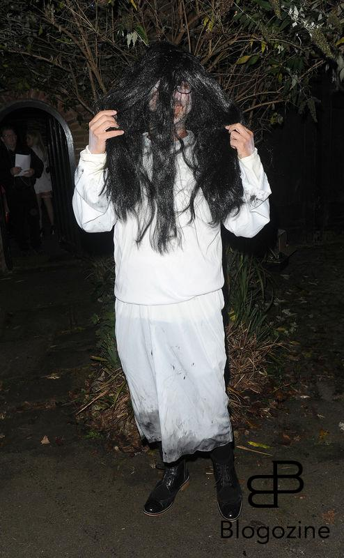 31 October 2016. Celebrities attend the annual Halloween party held at the home of Jonathan Ross. Pictured, David Baddiel Credit: Will/CK/GoffPhotos.com Ref: KGC-172/305