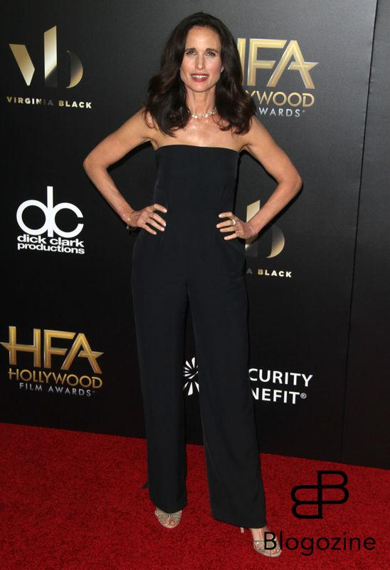 52224977 The 20th Annual Hollywood Film Awards held at The Beverly Hilton Hotel in Beverly Hills, California on 11/6/16.  The 20th Annual Hollywood Film Awards held at The Beverly Hilton Hotel in Beverly Hills, California on 11/6/16. Andie MacDowell FameFlynet, Inc - Beverly Hills, CA, USA - +1 (310) 505-9876