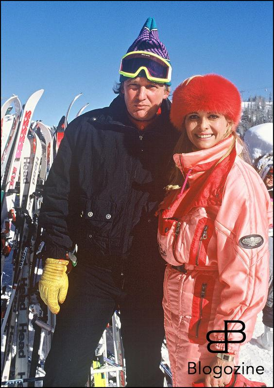 ARCHIVES - DONALD TRUMP, AVEC SA FEMME IVANA TRUMP, ET MARLA MAPLES A ASPEN COLORADO ARCHIVES PLAN AMERICAIN SPORT D