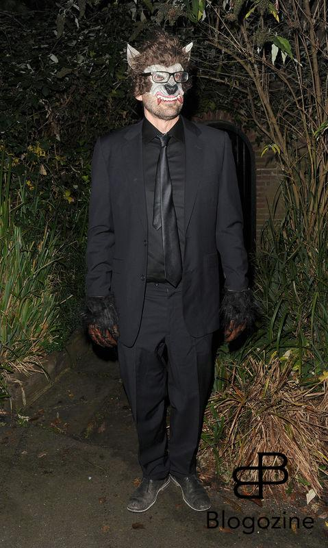 31 October 2016. Celebrities attend the annual Halloween party held at the home of Jonathan Ross. Pictured, Louis Theroux Credit: Will/CK/GoffPhotos.com Ref: KGC-172/305