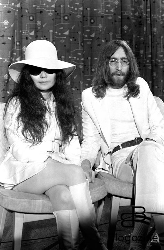 Picture By: Chris Walter / Photofeatures / Renta/Photoshot Shows: John Lennon of The Beatles and Yoko Ono photographed at Heathrow Airport in London in 1969. Job: 60178 Ref: CSW - Non-Exclusive UK Rights Only *Unbylined uses will incur an additional discretionary fee!* **HIGHER RATES APPLY** *Please call to negotiate fees* **More images available on request** 9th November 1966 - John Lennon and Yoko Ono meet for the first time at her exhibition at the Indica Gallery in London. Lennon remembered the date of their meeting as the 9th but many Beatles historians contend that it actually happened on the 7th, the day before the exhibition opened.