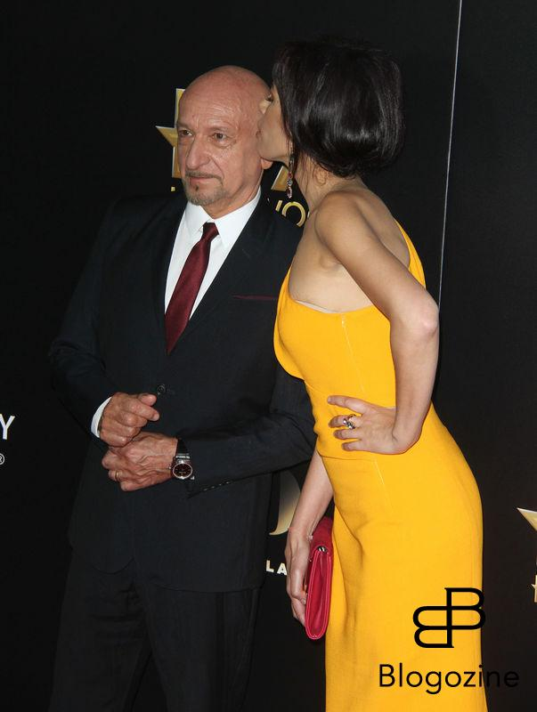 52224882 The 20th Annual Hollywood Film Awards held at The Beverly Hilton Hotel in Beverly Hills, California on 11/6/16.  The 20th Annual Hollywood Film Awards held at The Beverly Hilton Hotel in Beverly Hills, California on 11/6/16. Ben Kingsley, Daniela Lavender FameFlynet, Inc - Beverly Hills, CA, USA - +1 (310) 505-9876