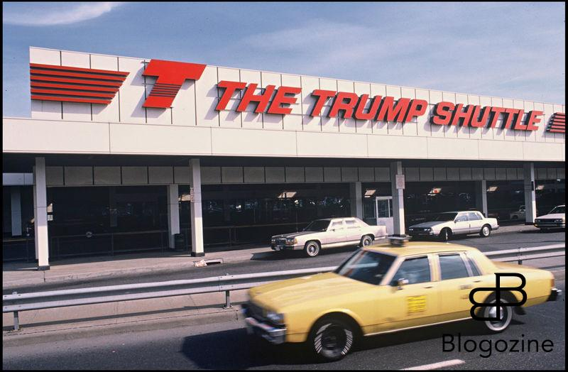 ARCHIVES - AEROPORT CONSTRUIT PAR LA SOCIETE DE DONALD TRUMP A NEW YORK EN 1990