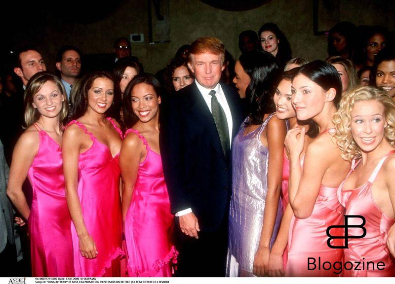 """DONALD TRUMP"" ET MISS USA PROMOTION D"