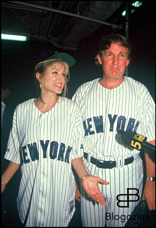 ARCHIVES - MARLA MAPLES ET DONALD TRUMP LORS D