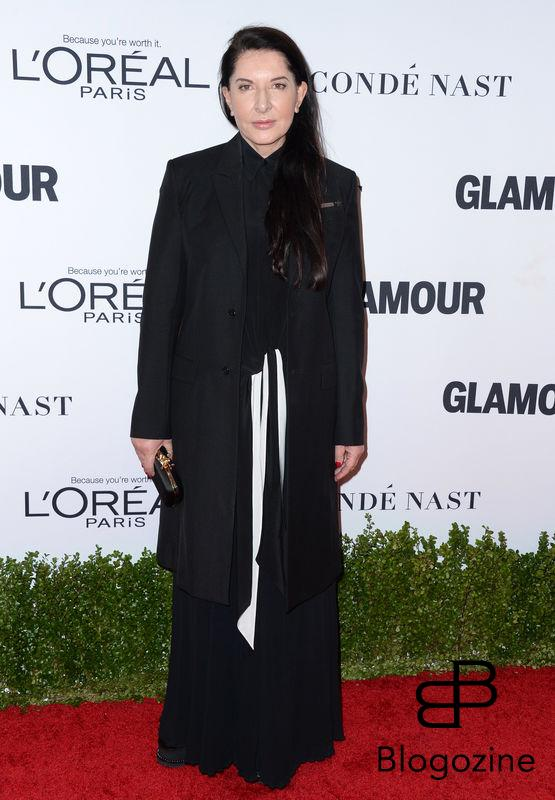 Marina Abramovic attends Glamour Women Of The Year 2016 at NeueHouse Hollywood on November 14, 2016 in Los Angeles, CA, USA. Photo by Lionel Hahn/ABACAPRESS.COM